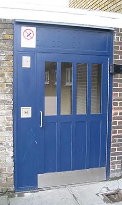 Security Entry Door