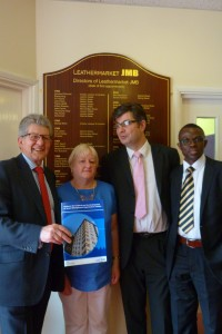 Localism Minister Don Foster with JMB Directors